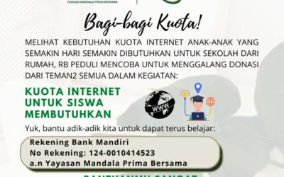 Kuota Internet Untuk Siswa Membutuhkan